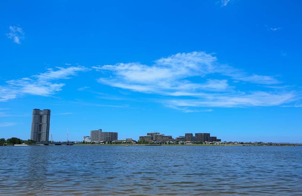 福岡市アイランドシティ/海に抱かれる景観