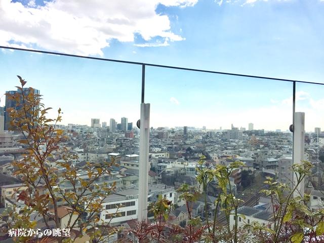 【病院からの眺望】五反田リハビリテーション