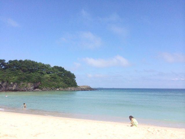 壱岐市の海岸