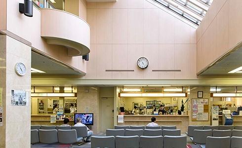 埼玉県の皆野病院 待合室